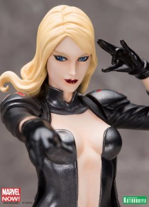 Kotobukiya Emma Frost ARTFX+ Statue Close-Up of Head