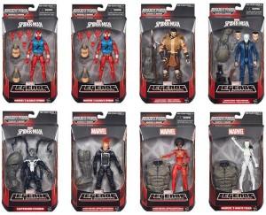Marvel Legends 2015 Spider-Man Wave 3 Case Ratios