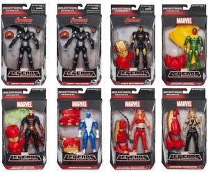 Marvel Legends Avengers Wave 3 Hulkbuster Series Case