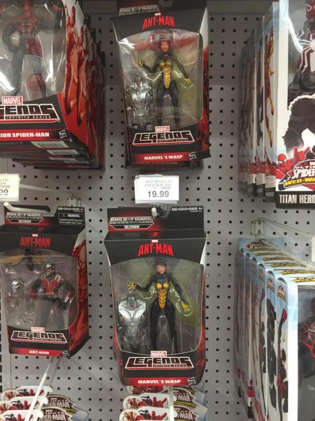 Marvel Legends Wasp Figure Ultron Series On Shelves