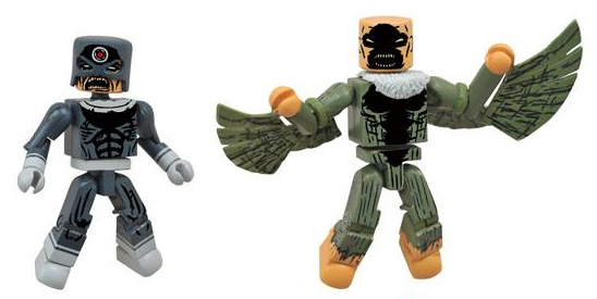 Marvel Minimates Zombie Bullseye and Vulture Figures