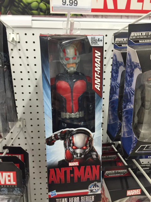 Marvel Titan Hero Ant-Man Action Figure 12 Inch Released