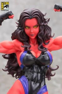 Red She-Hulk Bishoujo Statue SDCC 2015 Exclusive