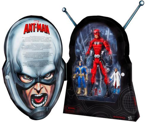 SDCC 2015 Ant-Man Figures Box Set Hasbro Exclusive