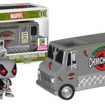 SDCC 2015 Funko X-Force Deadpool Chimichanga Truck!