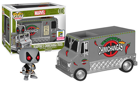 SDCC 2015 Funko X-Force Deadpool Chimichanga Set POP Vinyls Exclusive