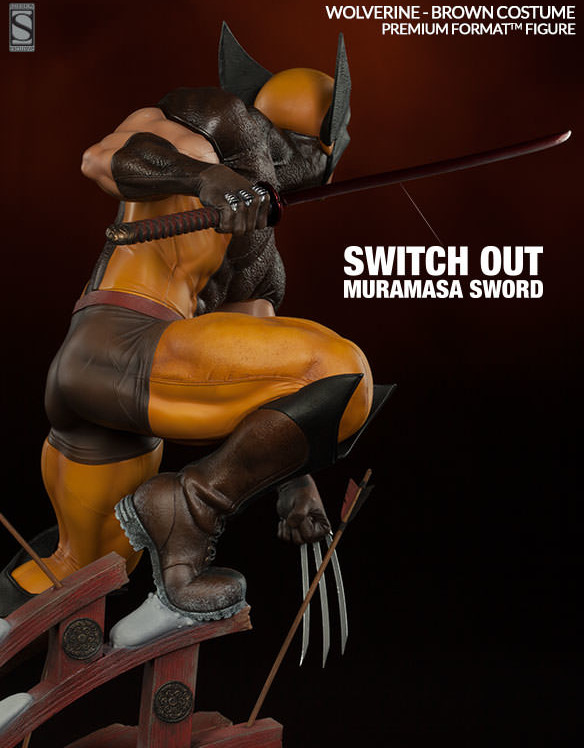 Sideshow Exclusive Muramasa Sword for Brown Costume Wolverine Statue