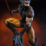 Sideshow Exclusive Brown Costume Wolverine Statue!