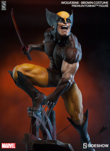 Sideshow Premium Format Brown Costume Wolverine Statue