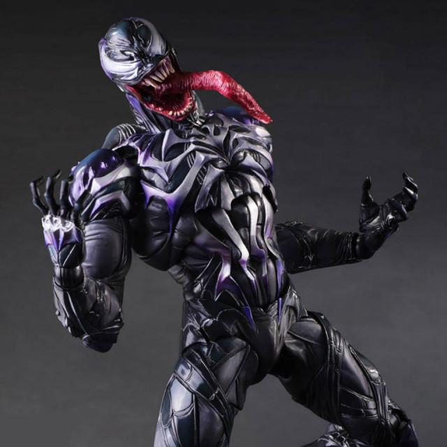 Square-Enix Play Arts Kai Venom Figure Revealed