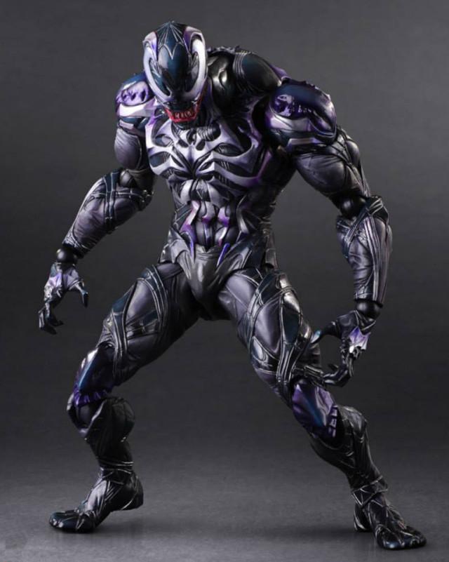 Square-Enix Venom Play Arts Kai Action Figure