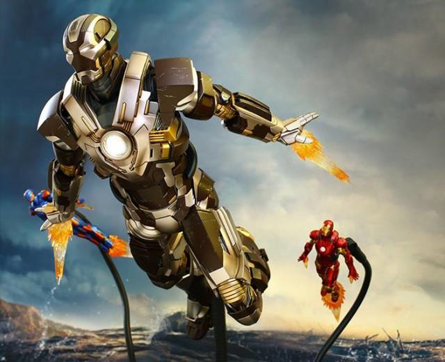 2015 Toy Fair Exclusive Iron Man Tank Hot Toys Figure