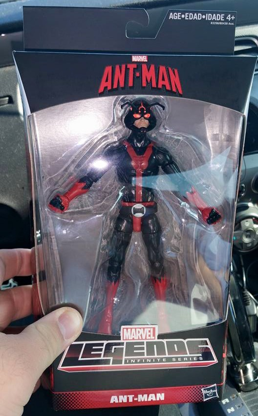 Ant-Man Walgreens Marvel Legends Exclusive Figure Released