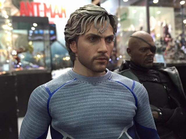 Close-Up of Avengers Age of Ultron Quicksilver Hot Toys Figure