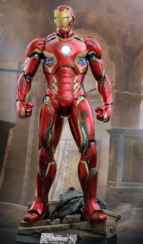 Damaged Ultron Base for Hot Toys QS Iron Man Mark XLV Figure