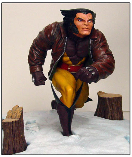 Diamond Select Wolverine Marvel Premier Collection Statue