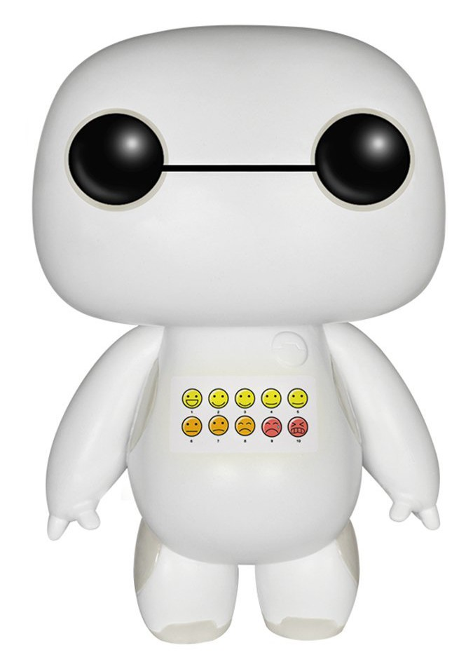 Emoticon Chested Baymax Funko POP Vinyls Comic Con 2015 Exclusive