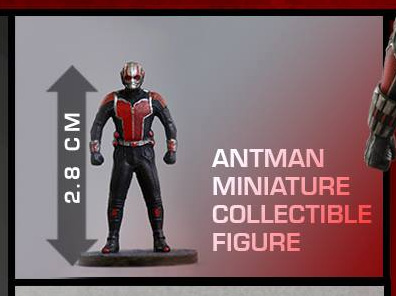 Hot Toys Antman Miniature Collectible Figure