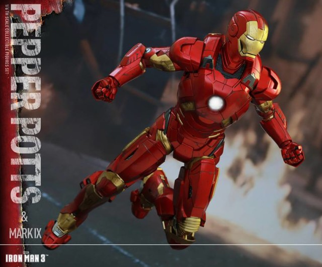 Hot Toys Iron Man Mark IX Figure