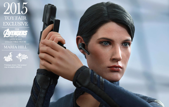 Hot Toys Maria Hill Sixth Scale Figure Close-Up
