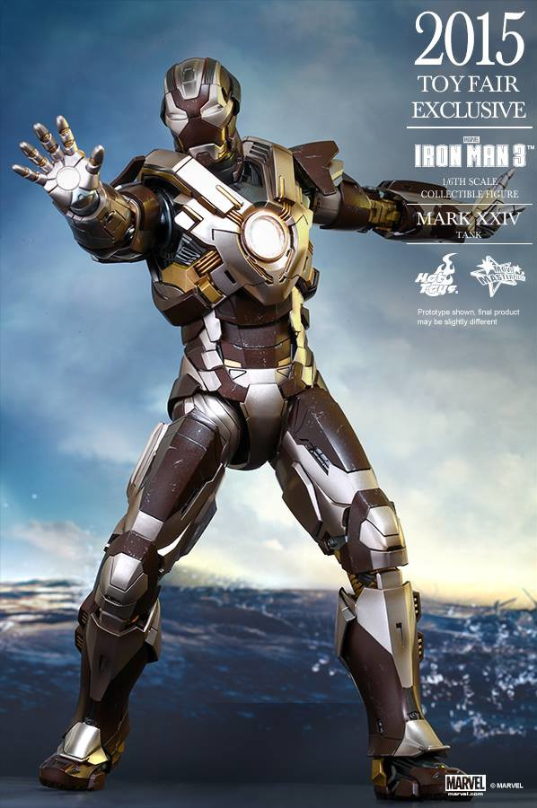 Hot Toys Toy Fair Exclusive 2015 Tank Iron Man Sixth Scale Figure MMS