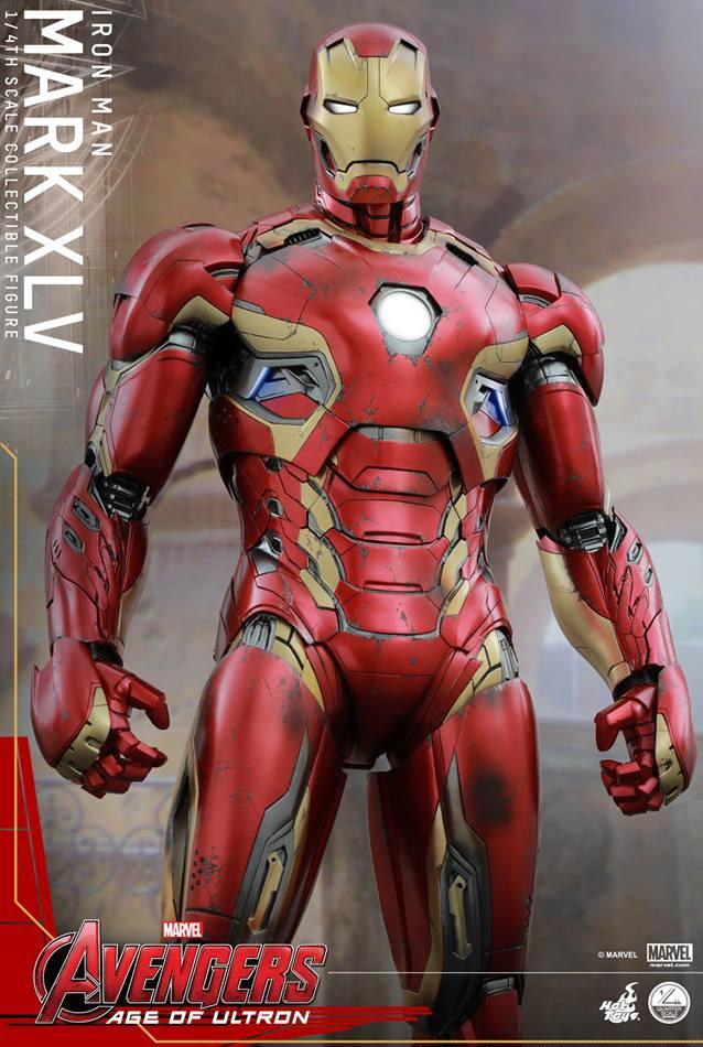 Iron Man Mark 45 Hot Toys Quarter Scale Figure