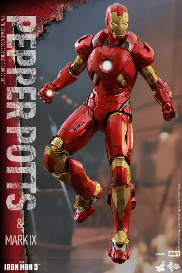 Iron Man Mark 9 Hot Toys Sixth Scale Figure