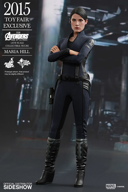 Maria Hill Hot Toys Exclusive Sixth Scale Figure MMS 2015