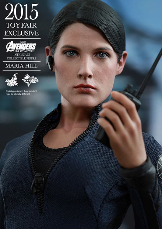 Maria Hill Hot Toys Toy Fair 2015 Exclusive MMS Figure