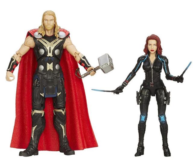 Marvel Legends 2015 Black Widow Thor Figures Amazon Exclusive