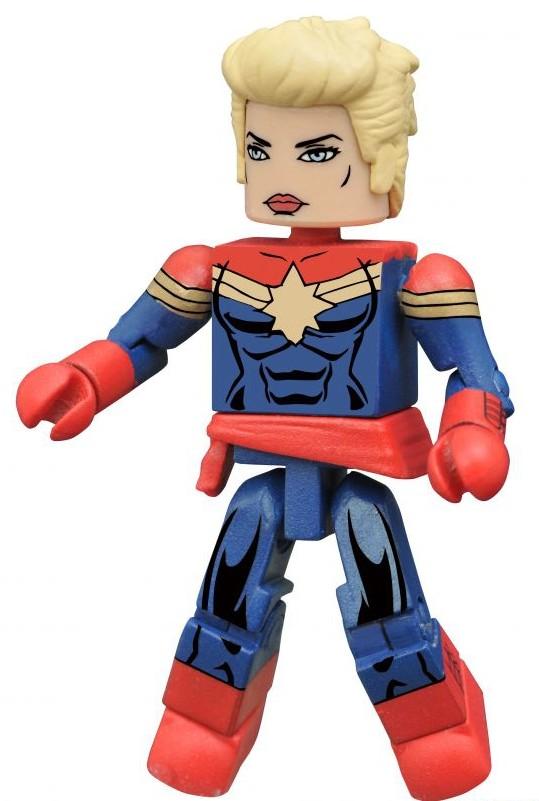 Marvel Minimates Secret Wars Captain Marvel Figure