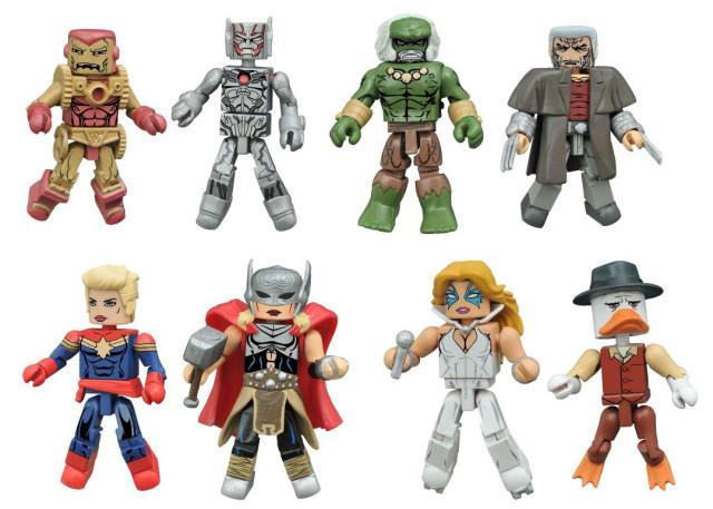 Marvel Minimates Secret Wars Figures Series