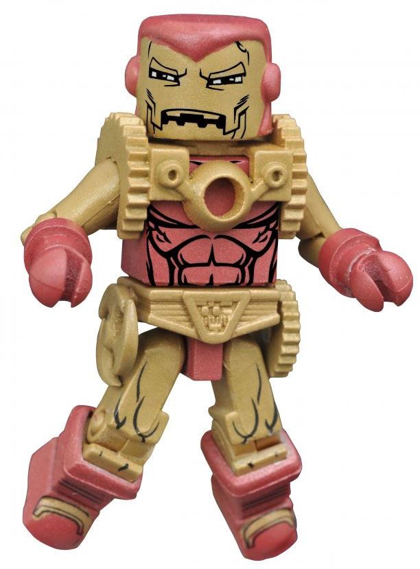 Marvel Minimates Secret Wars Iron Man 2020 Figure Arno Stark