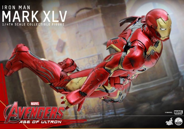 Quarter Scale Hot Toys Iron Man Mark XLV Avengers Age of Ultron Figure