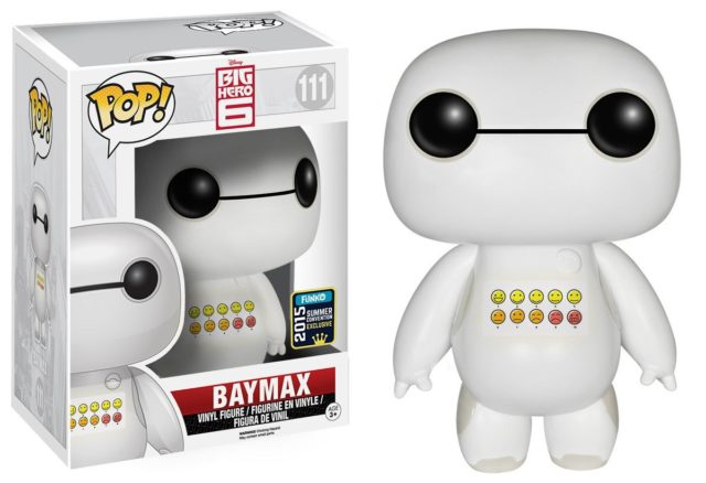 SDCC 2015 Exclusive Emoticon Chest Baymax Figure