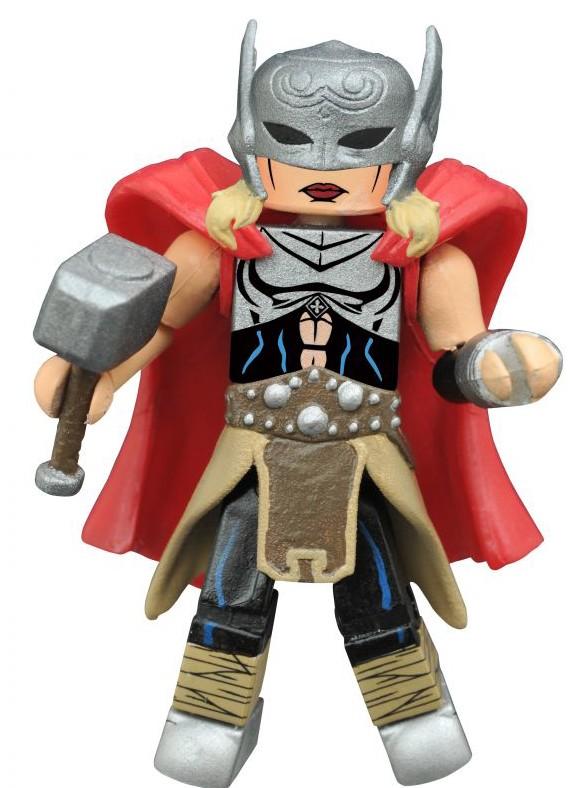 Secret Wars Minimates Lady Thor Jane Foster Figure