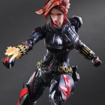 Play Arts Kai Black Widow Figure Painted Photos!