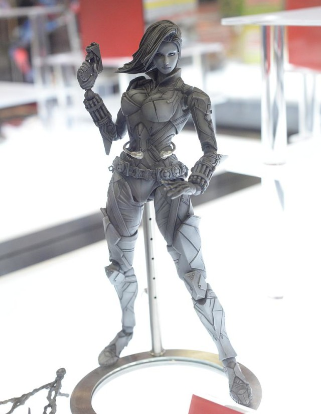 Square-Enix Play Arts Black Widow Variant Figure Unpainted Prototype