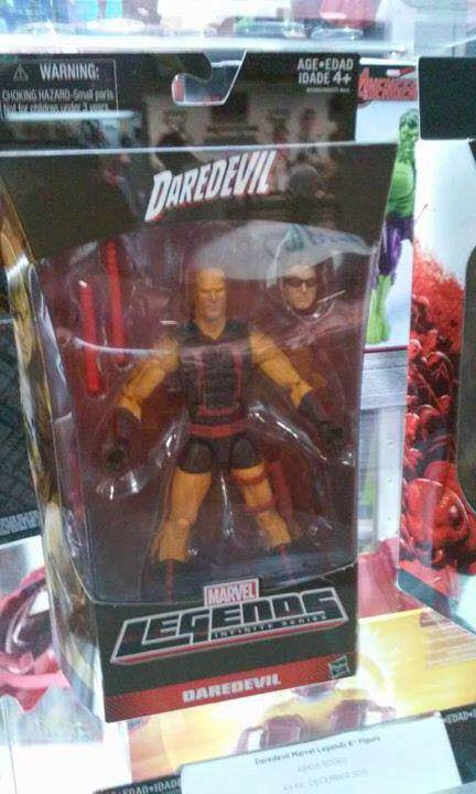 Yellow Daredevil Marvel Legends Walgreens Exclusive