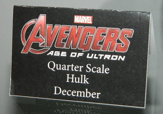 Avengers Quarter Scale Hulk NECA December 2015 Release Date
