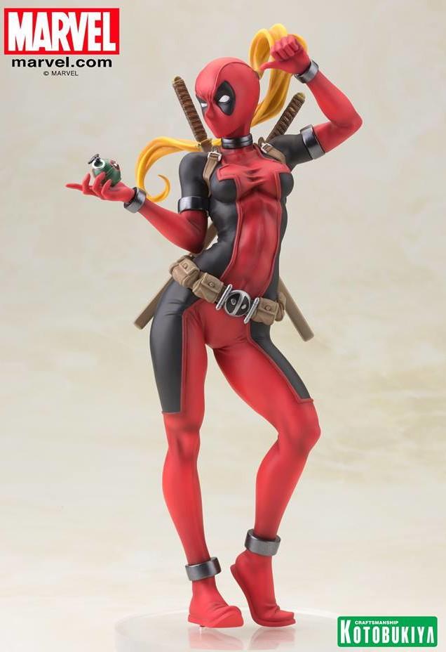 Bishoujo Lady Deadpool Kotobukiya 2016 Statue