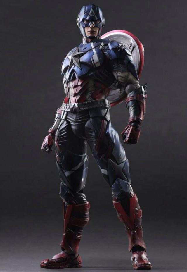 Captain America Play Arts Kai Variant Figure Square-Enix