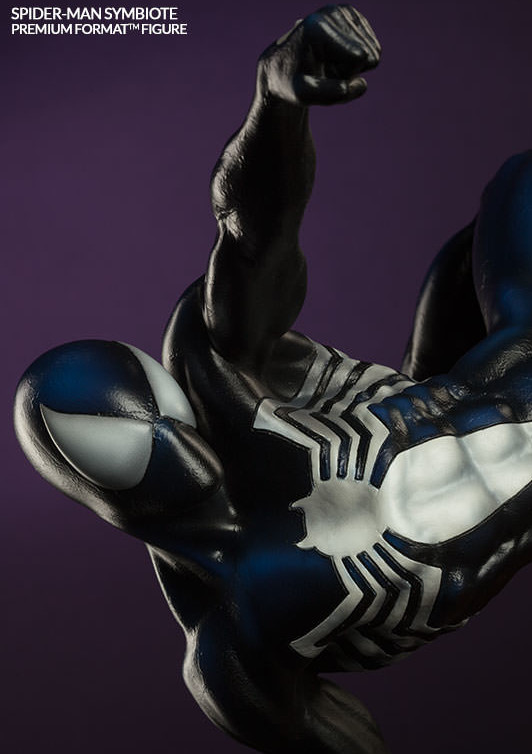 Closed Fist of Symbiote Spider-Man Sideshow Premium Format Figure
