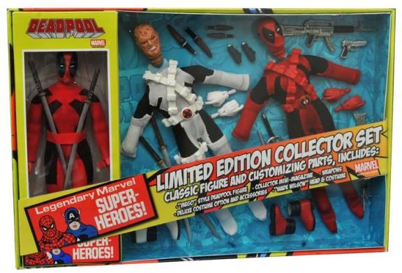 Diamond Select Toys Deadpool Retro Figure Collector Set