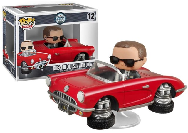 Funko Agents of SHIELD Lola and Director Coulson POP Vinyls Rides
