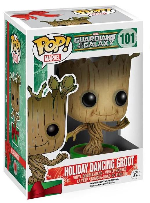 Funko POP Vinyls Holiday Dancing Groot Revealed
