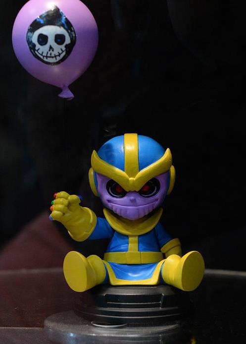 Gentle Giant Thanos Baby Mini-Statue Skottie Young Comic Con 2015