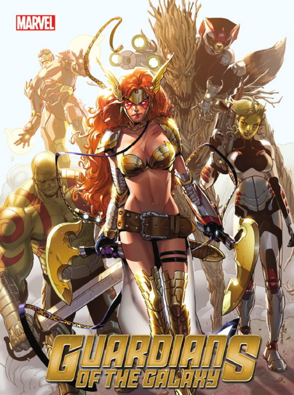 Guardians of the Galaxy 7 Cover Angela