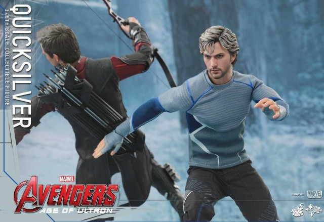Hot Toys Avengers Age of Ultron Quicksilver Movie Masterpiece Series Figure