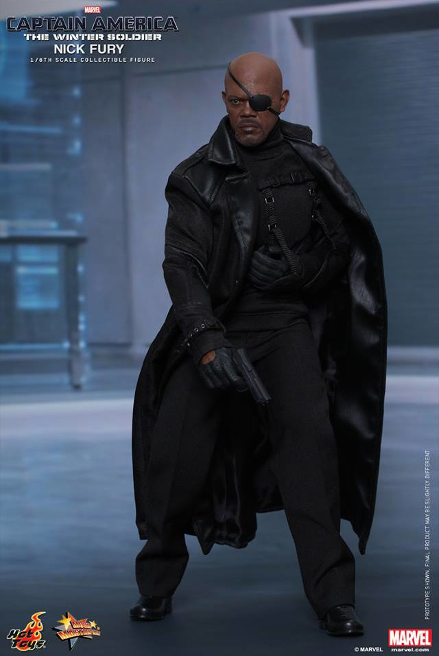 Hot Toys MMS 315 Nick Fury Figure